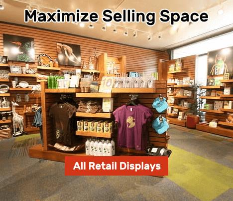Retail Slatwall Display