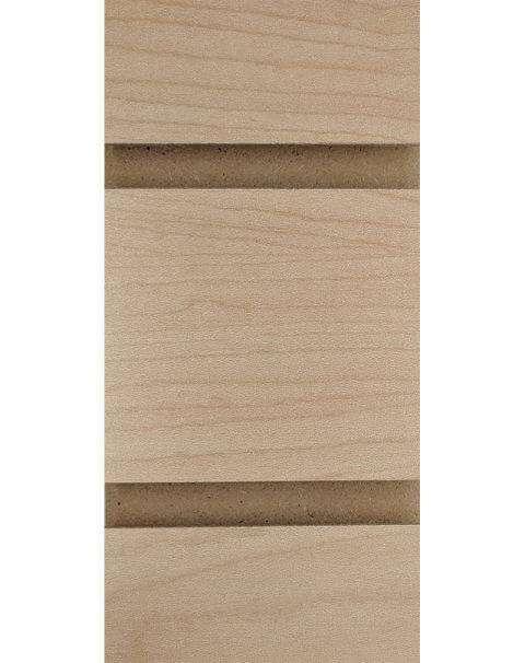 Maple LPL Slatwall Panel