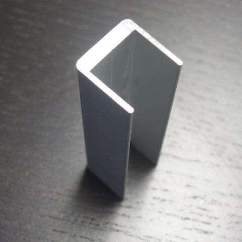 Aluminum Cornerform End Cap