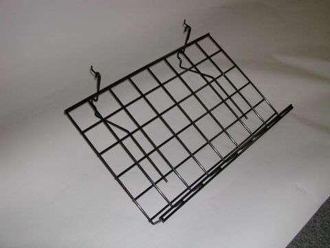 Angled Wire Slatwall Shelf
