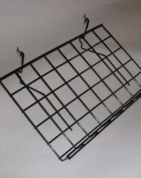 Angled Wire Slatwall Shelf