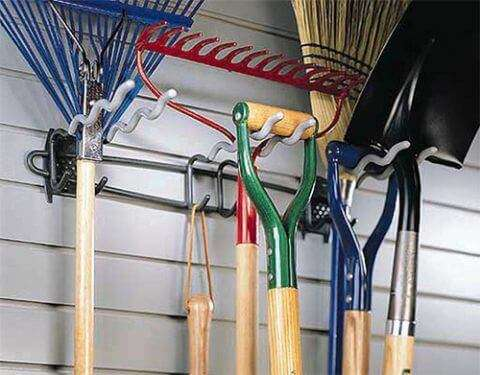 Big Tool Rack with Hooks & Hangers - 2