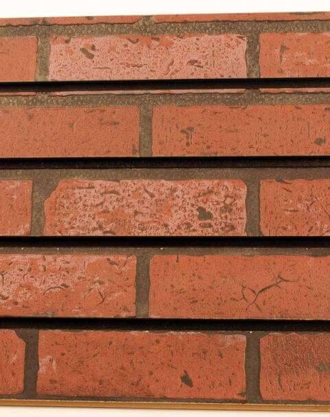 Brick Slatwall Panel