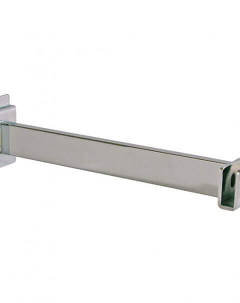 Chrome Rectangular Tube Hangrail Bracket
