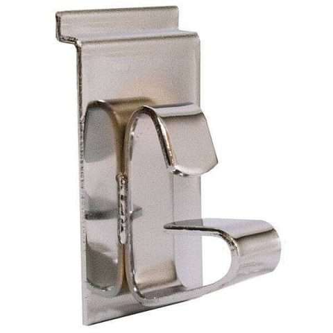 Chrome Slatwall Wheel & Rim Holder Bracket