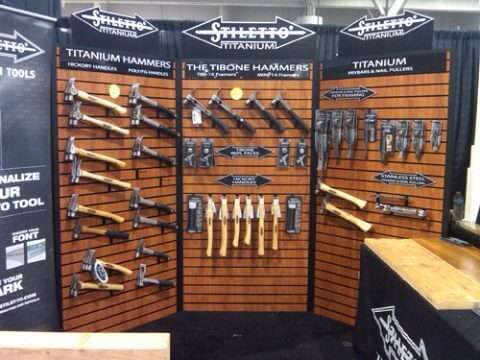 Cornerform Slatwal Display at Tradeshow