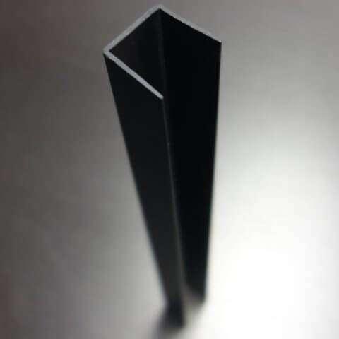 Finish End Cap Cornerform - Grey