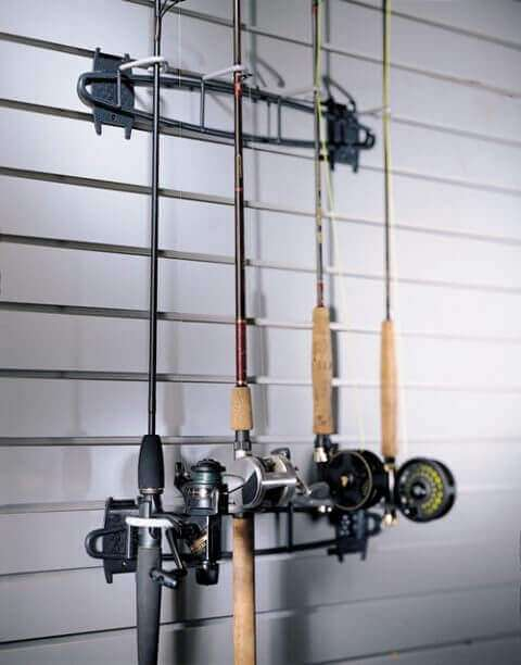 Fish Hook with Rod & Reel Holder - 2