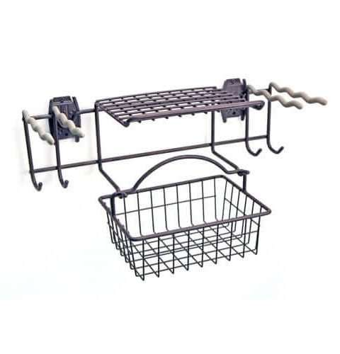 Garden Rack with Basket & Hooks – 1
