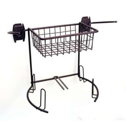 Golf Rack & Basket with Shoe Hooks - 1