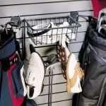 Golf Rack & Basket with Shoe Hooks - 2