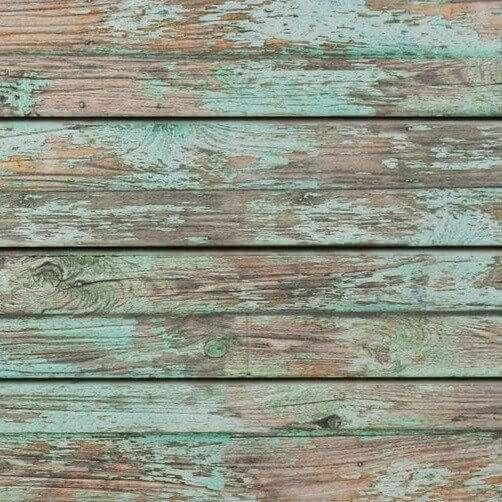 Green Old Paint Textured Slatwall Panel