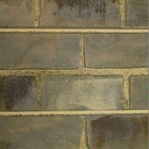 Grey Brick Textured Slatwall Panels
