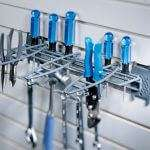 Hand Tool Rack with Hooks & Hangers - 2