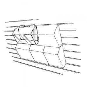 Modular Acrylic Dump Bin