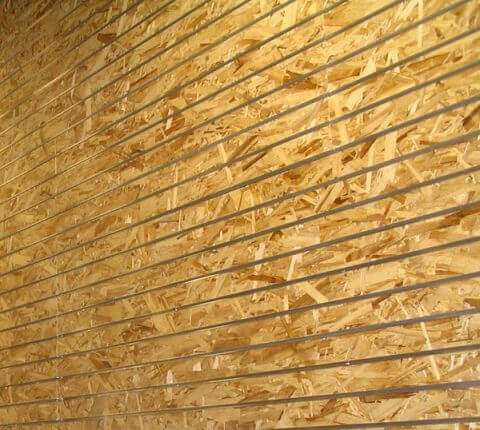 OSB Board Slatwall Panels