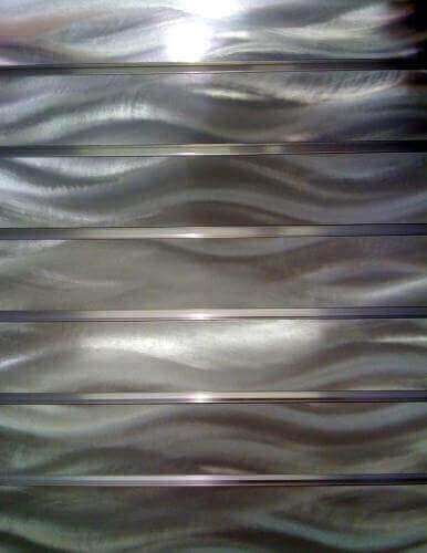 Placid Aluminum Chemetal Slatwall