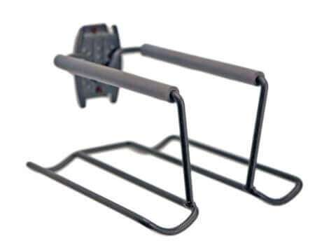 Racquet Rack with Tennis Ball Holder - 1