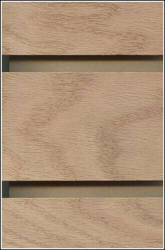Red Oak Veneer Slatwall Panel