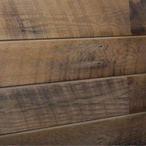 Sawtooth Warm Wood Grain Textured Slatwall