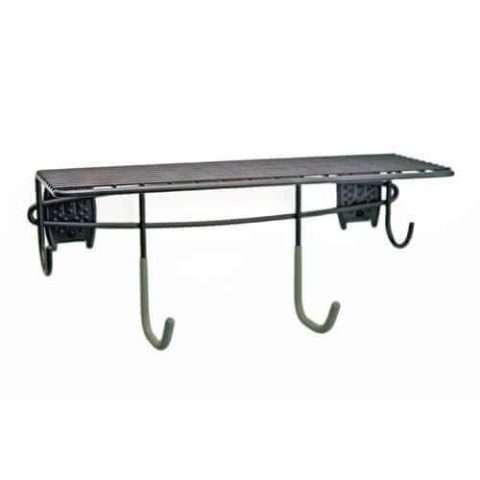 Shelf with Multiple Hooks / Hangers - 1