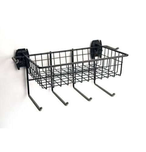 Skate Rack and Basket - 1