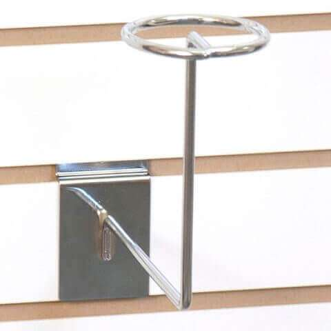 Slatwall Hat Display Rack