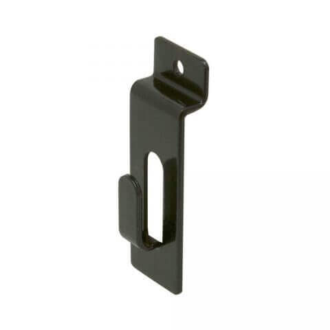 Slatwall Notch Picture Hook - Black