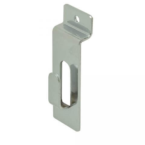 Slatwall Notch Picture Hook - Chrome