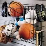 Sports Rack and Basket - 2