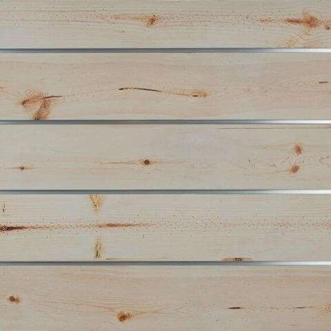 Spruce Wood Grain Textured Slatwall
