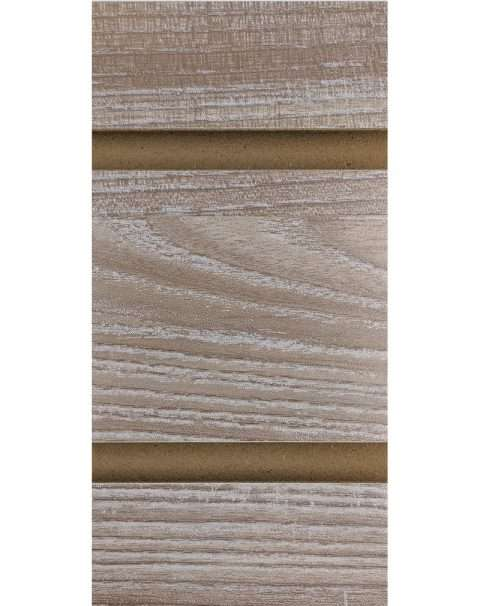 Rustic Ash LPL Slatwall Panel