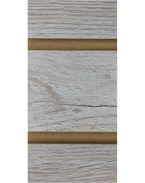 Weathered Barnwood LPL Slatwall Panel